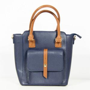 Handbags - Navy Blue Purse / Handbag